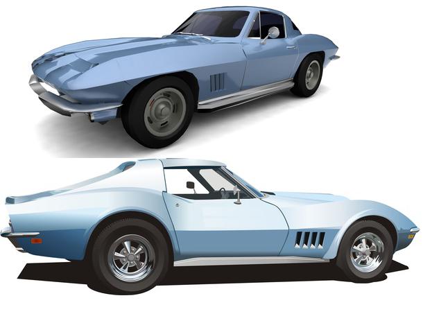 Bild 2 - Corvette Modell