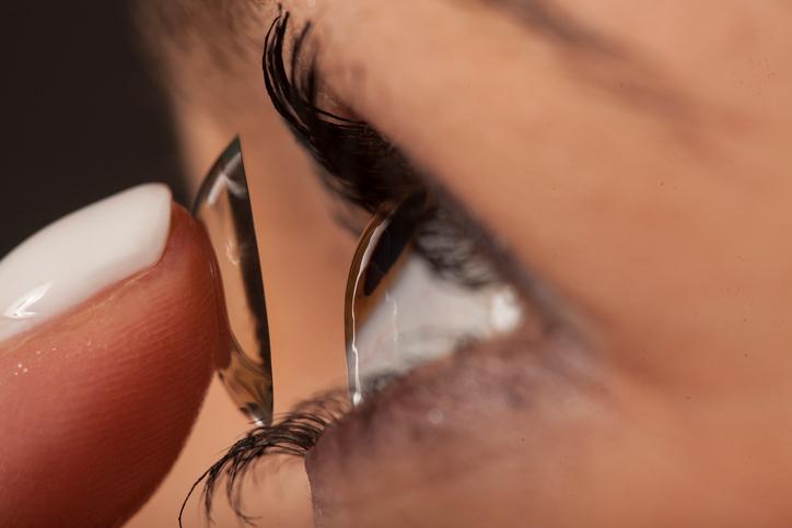 Kontaktlinsen aus dem Internet