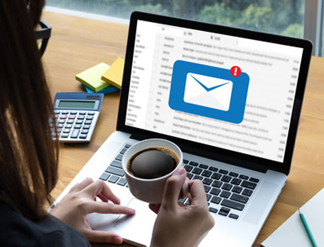 Werbung in Emails