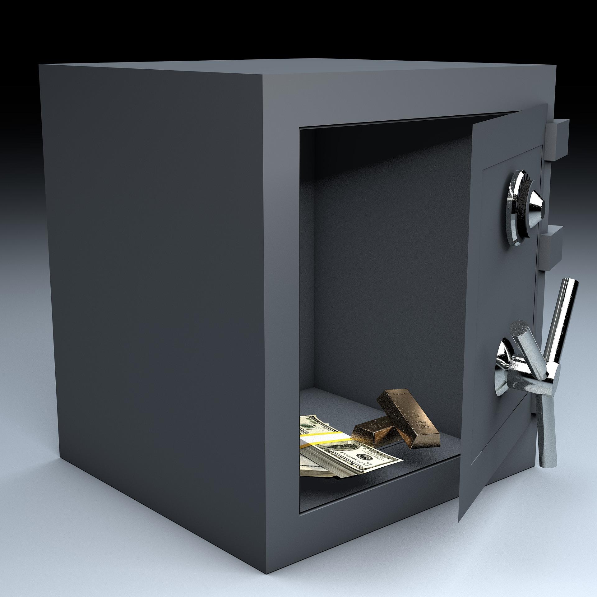 Bargeld zuhause versichert